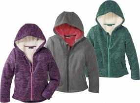 Отзыв на PEPPERTS® для детей для девочки Пот- / флисовая куртка из Интернет-Магазина LIDL