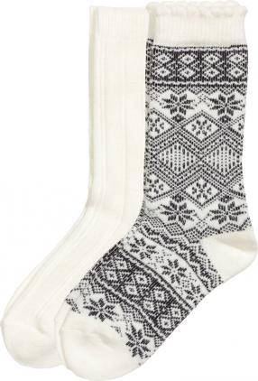 Отзыв на 2-пары Носки шерстяные из Интернет-Магазина H&M