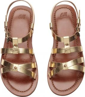 Отзыв на Сандалии с ремешком с кожи из Интернет-Магазина H&M