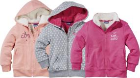 Отзыв на LUPILU® для девочки малыша Открытый-Sweatjacke из Интернет-Магазина LIDL