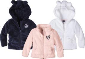 Отзыв на LUPILU® для девочки малыша Тедди флисовая куртка из Интернет-Магазина LIDL