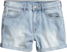 Отзыв на Джинсовые шорты из Интернет-Магазина H&M