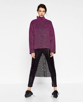 Отзыв на GLITZER-SWEATSHIRT из Интернет-Магазина Zara
