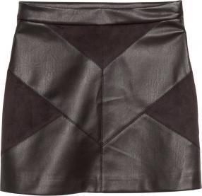 Отзыв на Юбка с искусственной кожи из Интернет-Магазина H&M