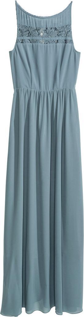 Отзыв на Шифоновое платье с кружевом из Интернет-Магазина H&M