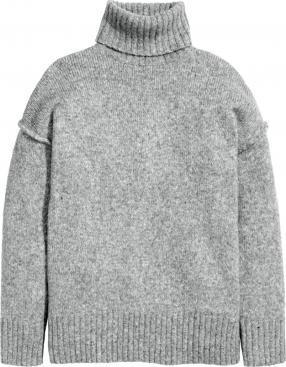 Отзыв на Grobstrick-Rollkragenpullover из Интернет-Магазина H&M