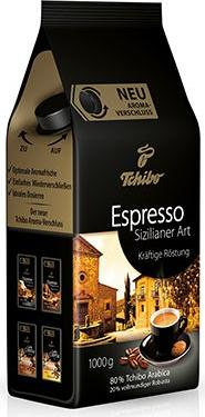 Отзыв на Espresso Sizilianer Art - 1kg Ganze Bohne из Интернет-Магазина Tchibo