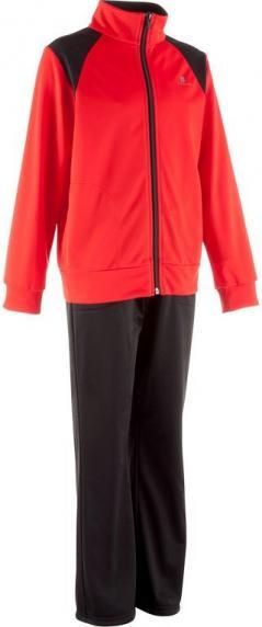 Отзыв на Спортивный костюм детский красно/черный DOMYOS из Интернет-Магазина Decathlon