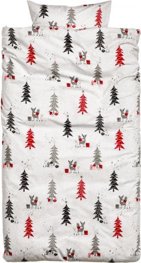 Отзыв на Постельное белье с Рождественским мотивом из Интернет-Магазина H&M