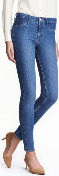 Отзыв на Узкие джинсы нормальные джинсы длиной по щиколотку из Интернет-Магазина H&M