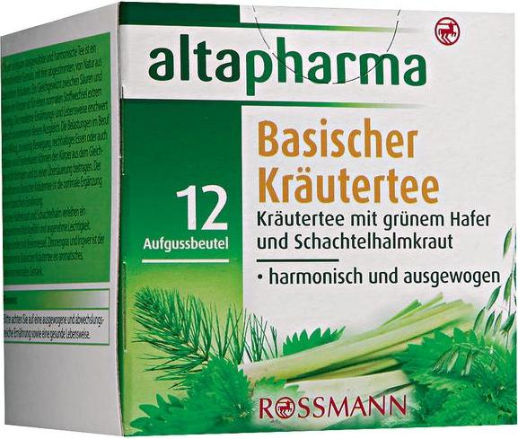 Отзыв на altapharma Basischer Kräutertee из Интернет-Магазина ROSSMANN
