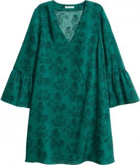 Отзыв на Платье с рукавом-воланом из Интернет-Магазина H&M
