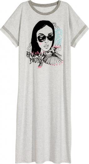Отзыв на Ночная рубашка с трикотажа из Интернет-Магазина H&M