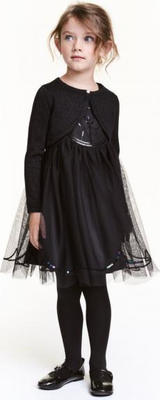 Отзыв на Бальное платье с блестками из Интернет-Магазина H&M