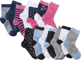 Отзыв на PEPPERTS®  пары носки для девочки подростка из Интернет-Магазина LIDL