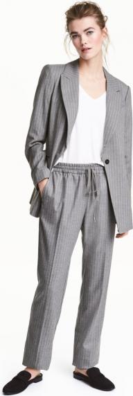 Отзыв на Брюки с поясом на затяжке из Интернет-Магазина H&M