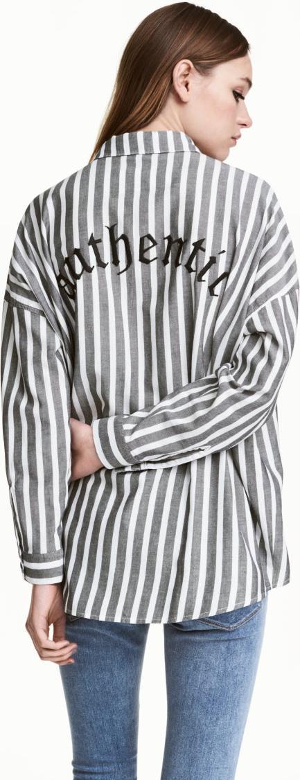Отзыв на Широкая хлопковая блузка из Интернет-Магазина H&M