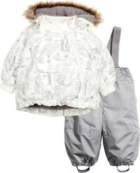 Отзыв на Стеганная куртка и штаны из Интернет-Магазина H&M