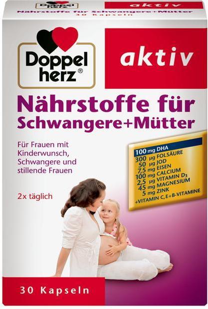 Отзыв на Doppelherz aktiv Nährstoffe für Schwangere + Mütter из Интернет-Магазина ROSSMANN
