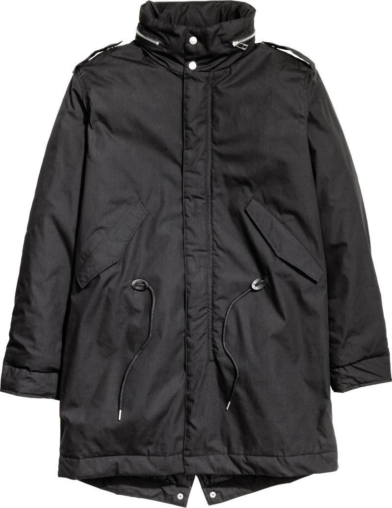 Отзыв на Мягкий пальто с капюшоном из Интернет-Магазина H&M