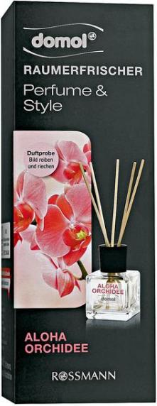 Отзыв на domol Raumerfrischer Perfume & Style Aloha Orchidee из Интернет-Магазина ROSSMANN