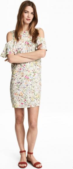 Отзыв на Cold-Shoulder-Kleid из Интернет-Магазина H&M