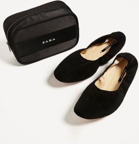 Отзыв на Балетки с кожи из Интернет-Магазина Zara