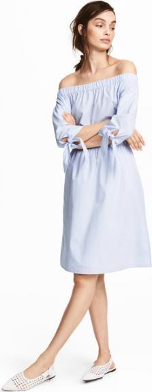 Отзыв на Платье со спущенными плечами из Интернет-Магазина H&M