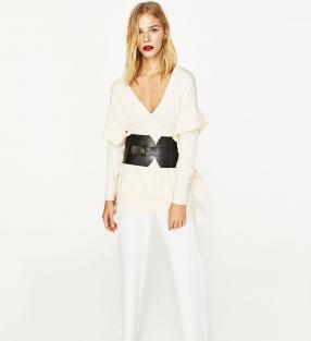 Отзыв на FLOUNCE SWEATER из Интернет-Магазина Zara