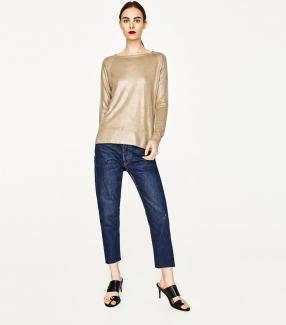 Отзыв на FOIL SWEATER из Интернет-Магазина Zara