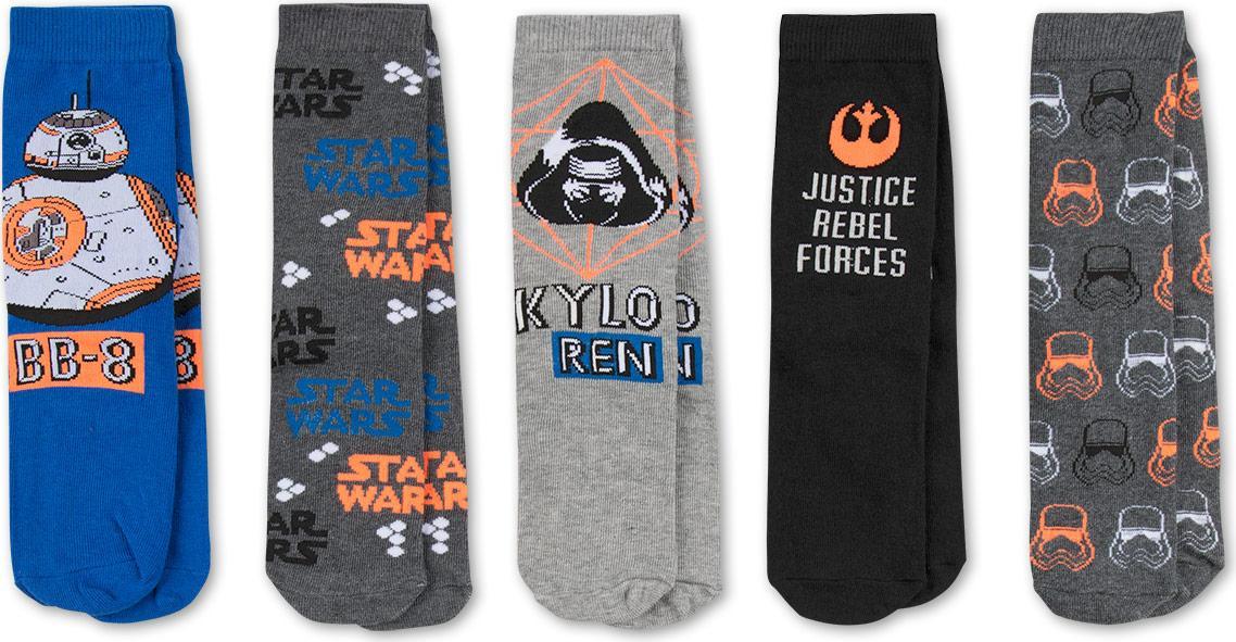 Отзыв на 5 пар Star Wars из Интернет-Магазина C&A