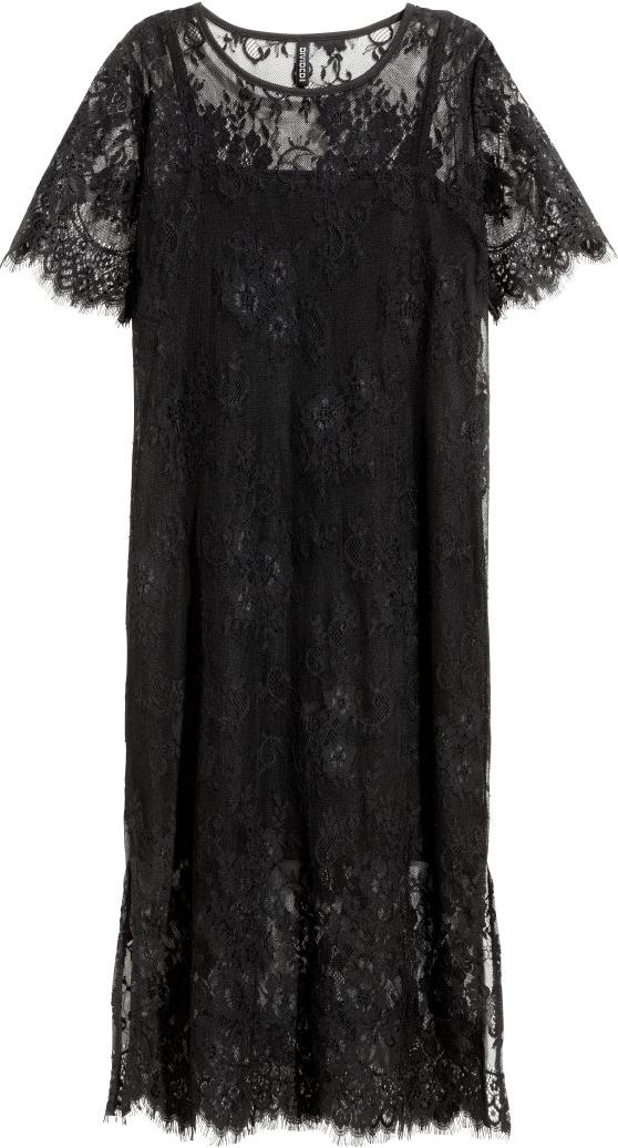 Отзыв на Платье с кружевом из Интернет-Магазина H&M