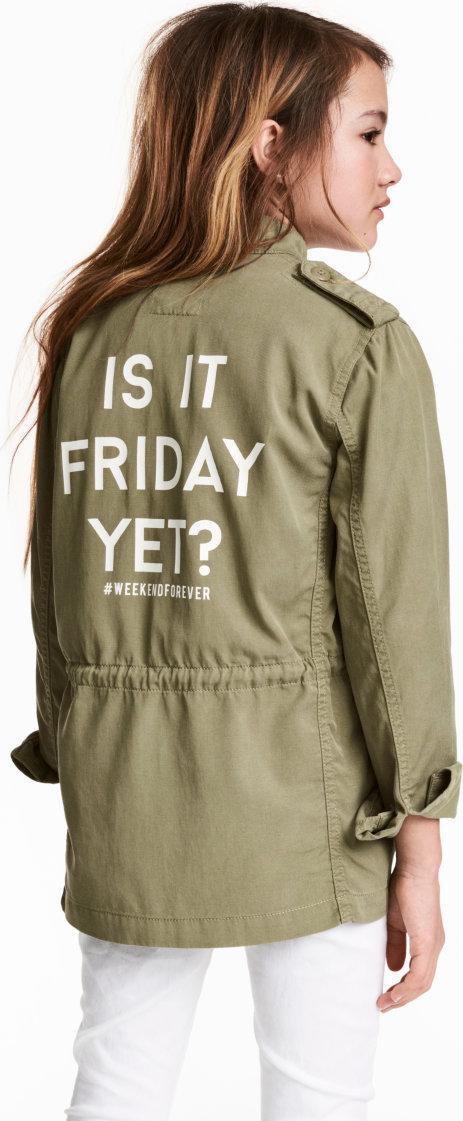 Отзыв на Куртка с из Интернет-Магазина H&M