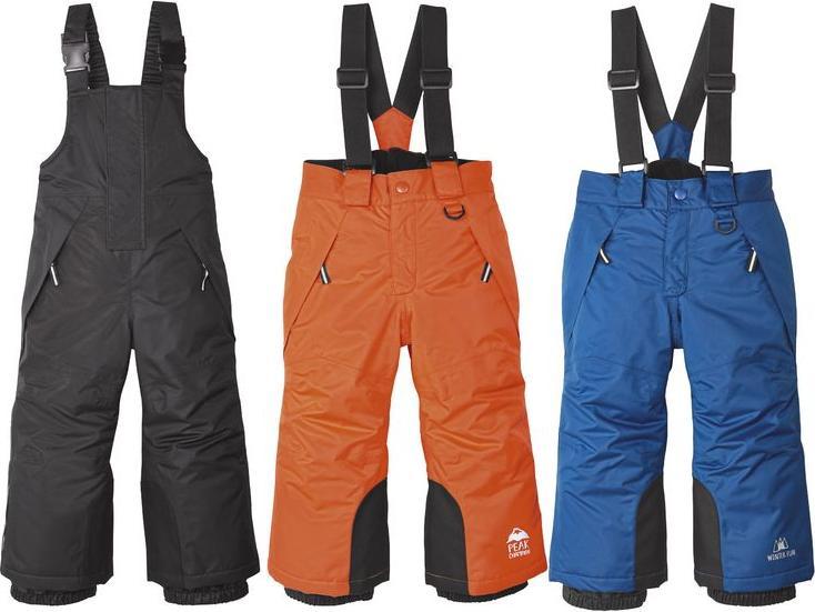 Отзыв на LUPILU® лыжные брюки для мальчика малыша из Интернет-Магазина LIDL
