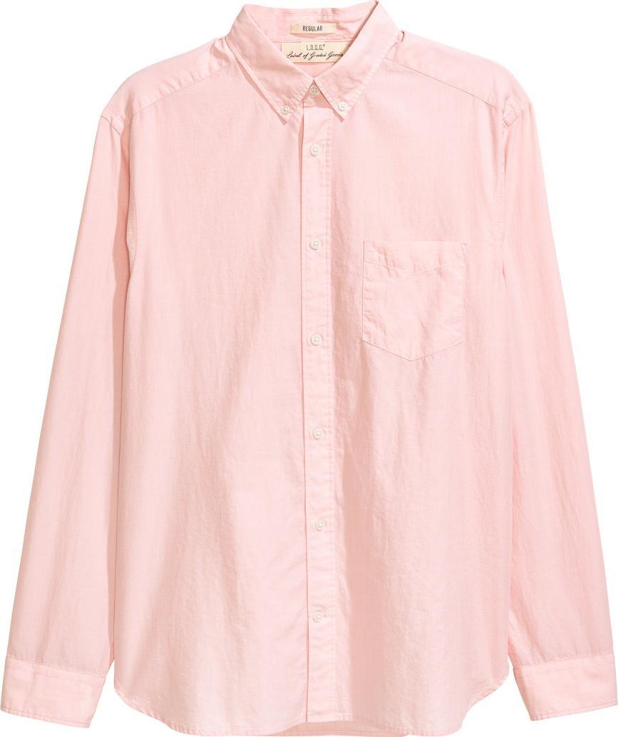 Отзыв на Хлопковая рубашка нормальные Fit из Интернет-Магазина H&M