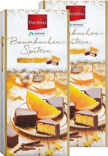 Отзыв на FAVORINA Baumkuchenspitzen Orangenlikör из Интернет-Магазина LIDL
