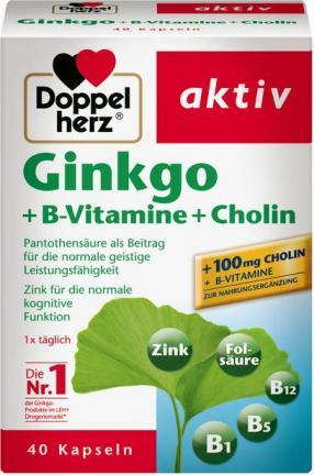 Отзыв на Doppelherz aktiv Ginkgo + B-Vitamine + Cholin из Интернет-Магазина ROSSMANN