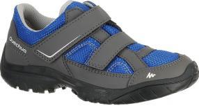 Отзыв на Обувь для ходьбы   с на липучке для детей голубой QUECHUA из Интернет-Магазина Decathlon