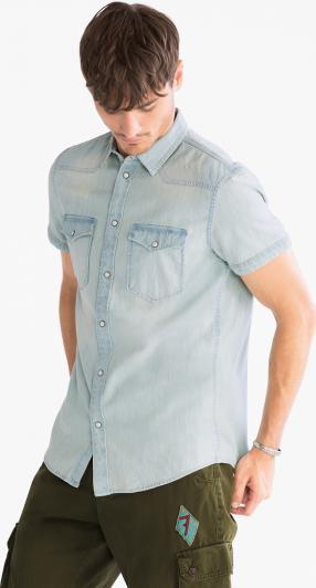 Отзыв на Джинсовая рубашка  нормальные Fit из Интернет-Магазина C&A