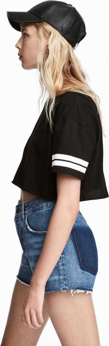 Отзыв на Укороченная футболка из Интернет-Магазина H&M