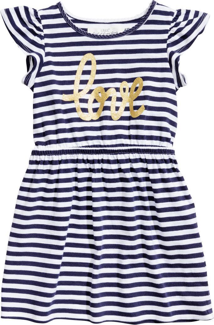 Отзыв на Платье с рукавом воланом из Интернет-Магазина H&M