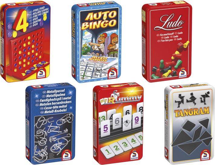 Отзыв на Schmidt Spiele Mitbringspiele in Metallbox из Интернет-Магазина LIDL