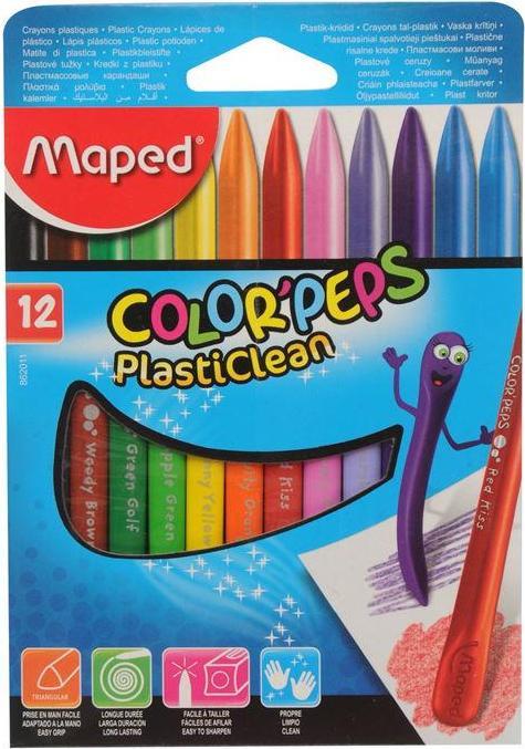 Отзыв на Maped Plastic Crayon 12 Pack из Интернет-Магазина Sports Direct
