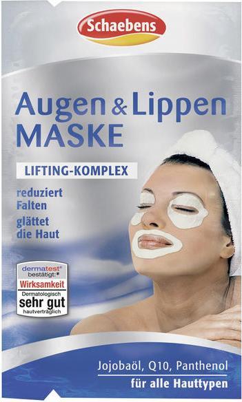 Отзыв на Schaebens Augen & Lippen Maske из Интернет-Магазина ROSSMANN