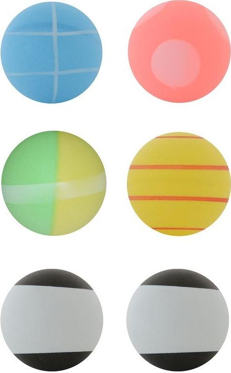 Отзыв на Tischtennisbälle Fun Ball 6 Stück bunt ARTENGO из Интернет-Магазина Decathlon
