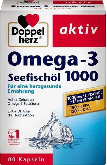 Отзыв на Doppelherz aktiv Omega-3 Seefischöl 1000 из Интернет-Магазина ROSSMANN