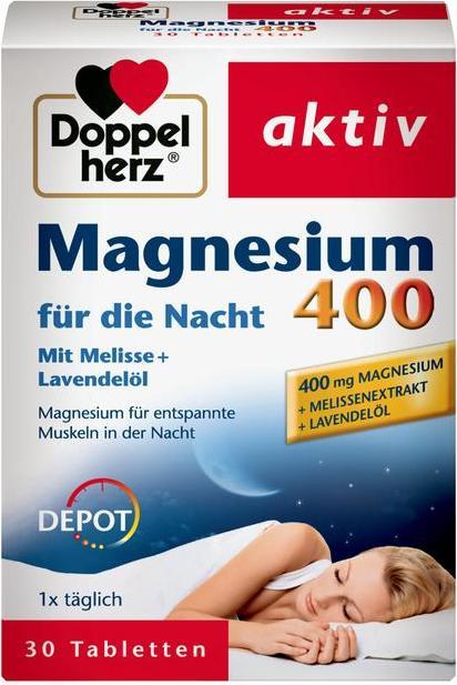 Отзыв на Doppelherz aktiv Magnesium 400 für die Nacht из Интернет-Магазина ROSSMANN