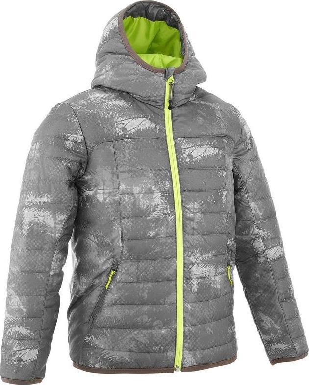 Отзыв на Стеганная куртка   для детей серая QUECHUA из Интернет-Магазина Decathlon