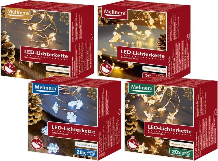 Отзыв на MELINERA® LED-Lichterkette из Интернет-Магазина LIDL