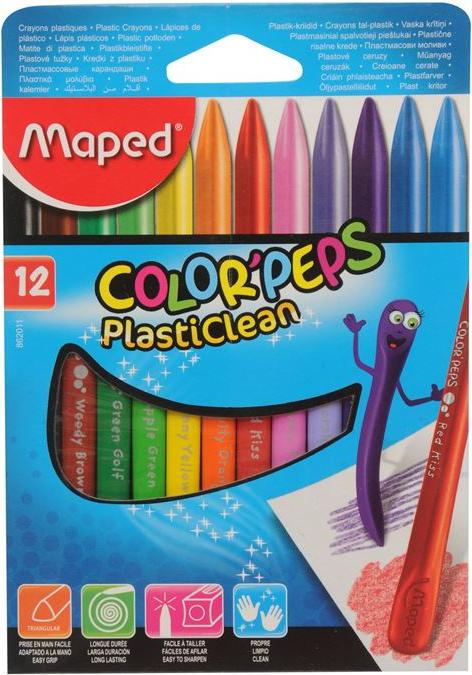 Отзыв на Maped Plastic Crayon 12 Pack из Интернет-Магазина Sports Direct
